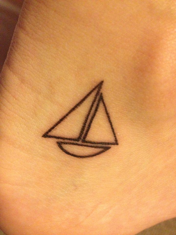 Sailboat tattoo ⛵️
