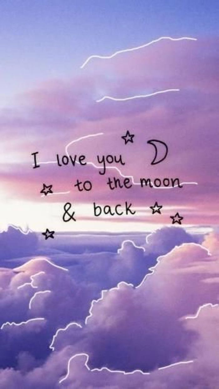 Wallpaperaccess brings you thousands of high quality images to be used as wallpaper for your computer, tablet or phone. i love you to the moon and back, cute girly wallpapers