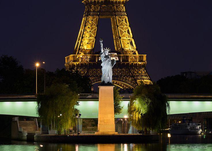 La réplique de la statue de la liberté - David Duchens
