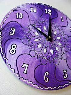 I want this Purple clock!        ❤lf