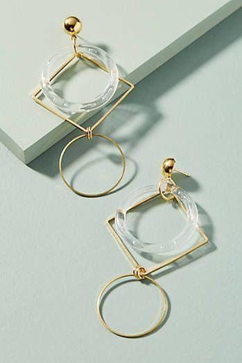 Beyond Drop Earrings www.wearethebikerstore.com | Leather, Skull, Bikers, Fashion, Men, Women, Home Decor, Jewelry, Acccessory.