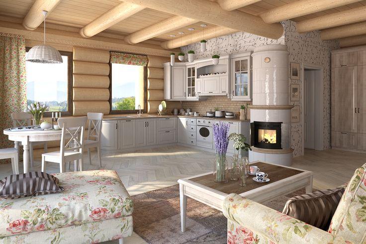 Wizualizacja Kuchni Prowansalskiej  www.babiebale.net