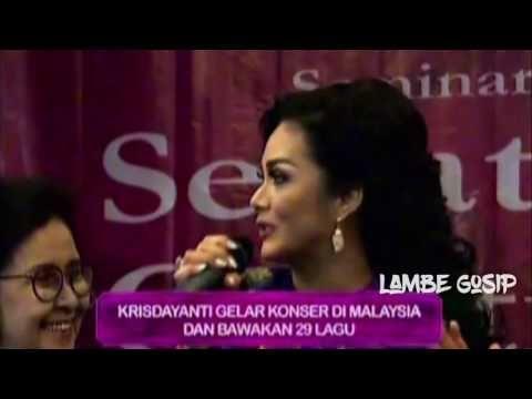 Krisdayanti Bakal Gelar Konser 3 Hari 3 Malam di Malaysia