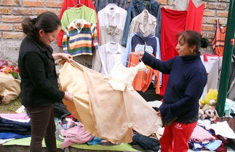 La ropa de segunda mano una alternativa al bolsillo- Noticias de Cuenca - Azuay - Ecuador - Eltiempo de Cuenca