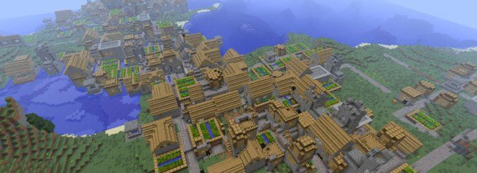 Gamers really love Minecraft and it's no surprise when the pocket edition version was released that it would become an instant hit. Through the many hours all gamers have put into the pocket edition we've been able to come across some pretty awesome seeds...