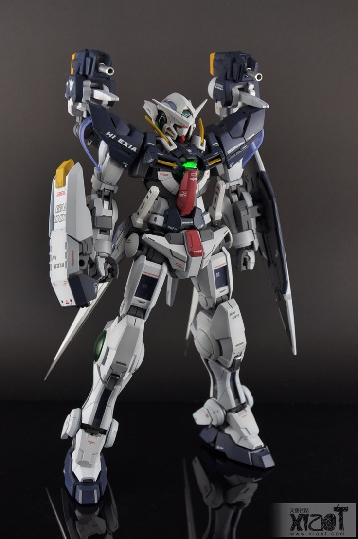 Gundam Guy Mg 1 100 Hi Exia Custom Build Kidou Senshi