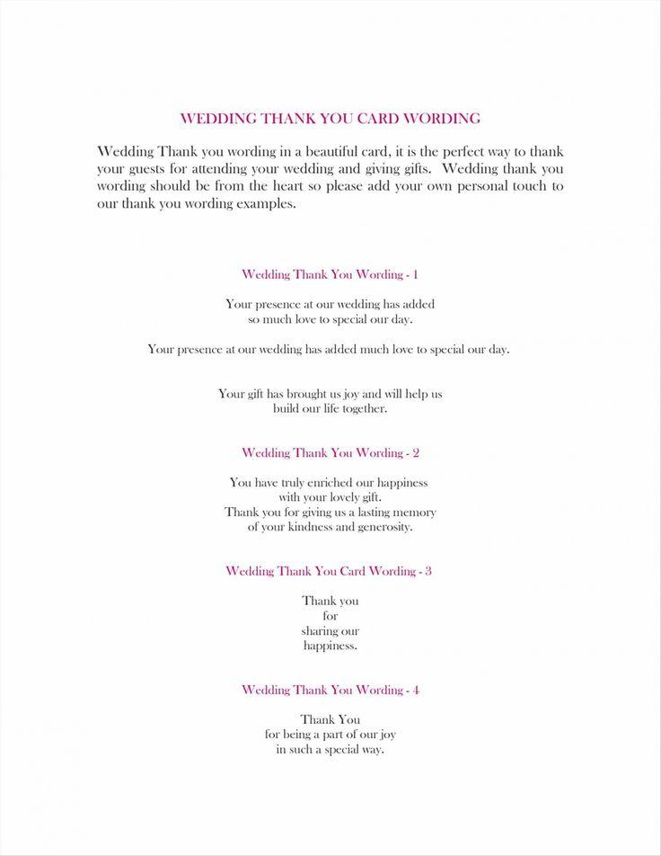 The 25+ best Thank you card wording ideas on Pinterest | Wedding ...