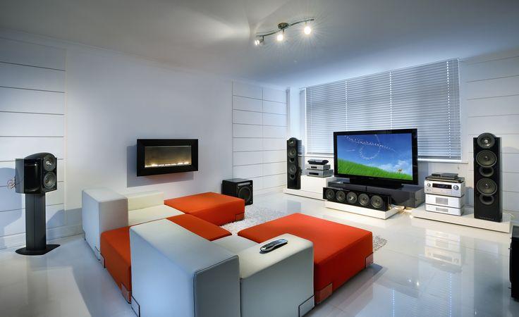 living room tv gaming setup via forums user the force gaming and video game. Black Bedroom Furniture Sets. Home Design Ideas