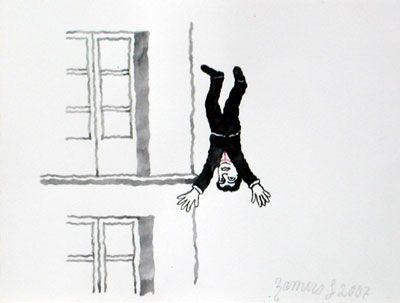 Insomnio X, 2007, gouache/papel, 21x28 cm.