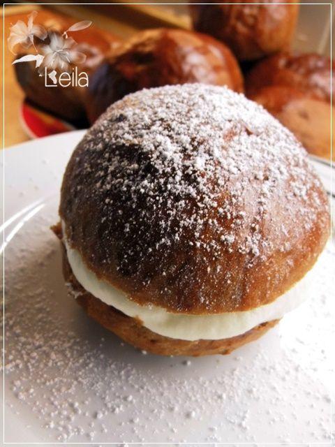 La Nueva Cocina de Leila: Semlor de chocolate