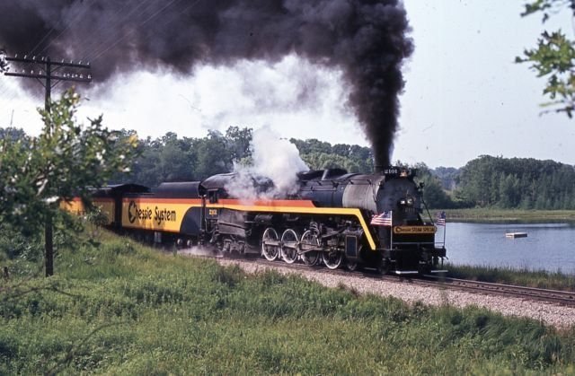 the chessie steam special