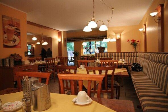 Het restaurant op het Beierse Woud.