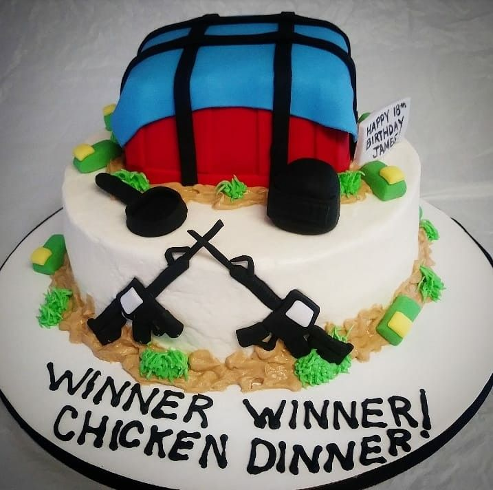 Pubg Cake My Cakes In 2019 Cake Birthday Cake Themed Cakes