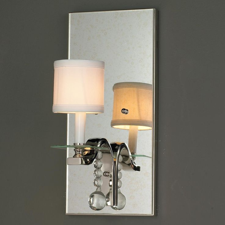 Bathroom Sconces With Crystal 39 best modern crystal & clear glass lighting images on pinterest