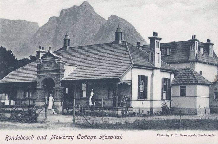 Rondebosch and Mowbray cottage hospital - c1900
