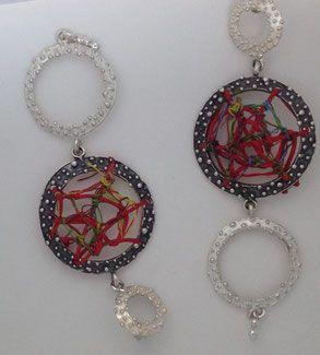 Susanna Cati textile art and Massimiliano Cesa jewel designer | Linum animae