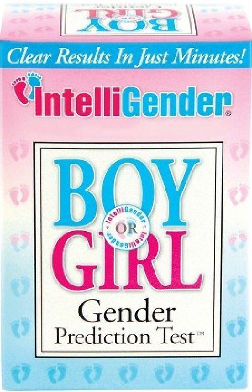 IntelliGender Boy or Girl Gender Prediction Test Kit ~ Baby Gender Predictor NEW #IntelliGender