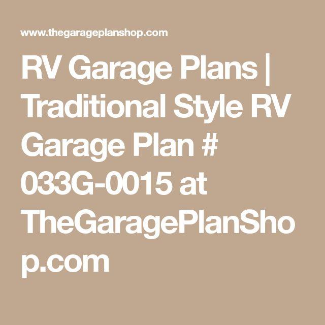 Rv Garage With Living Quarters: Best 25+ Rv Garage Ideas On Pinterest