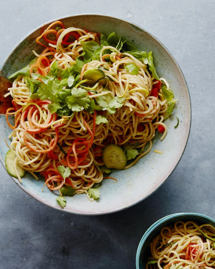 Spicy Peanut Noodles from www.whatsgabycooking.com (@whatsgabycookin)