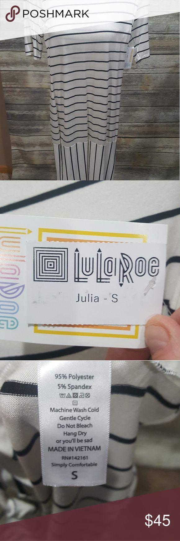 LuLaRoe Julia Size S LuLaRoe Julia Size S LuLaRoe Dresses