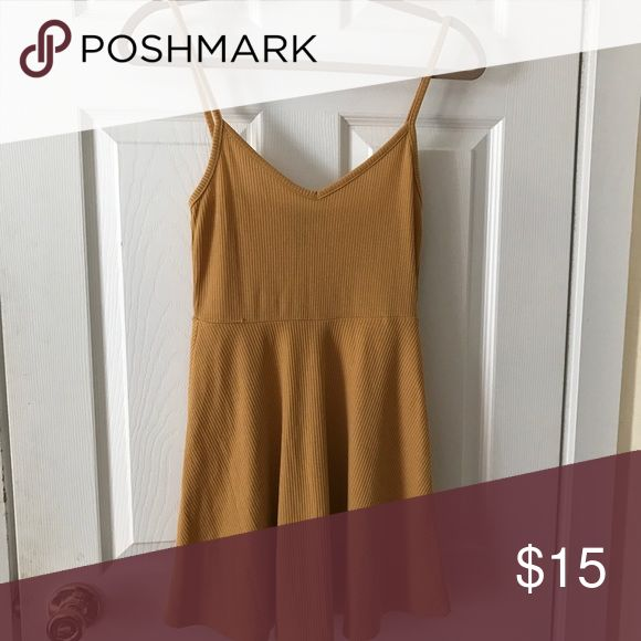 Mustard Colored Dress Never worn. Forever 21 Dresses