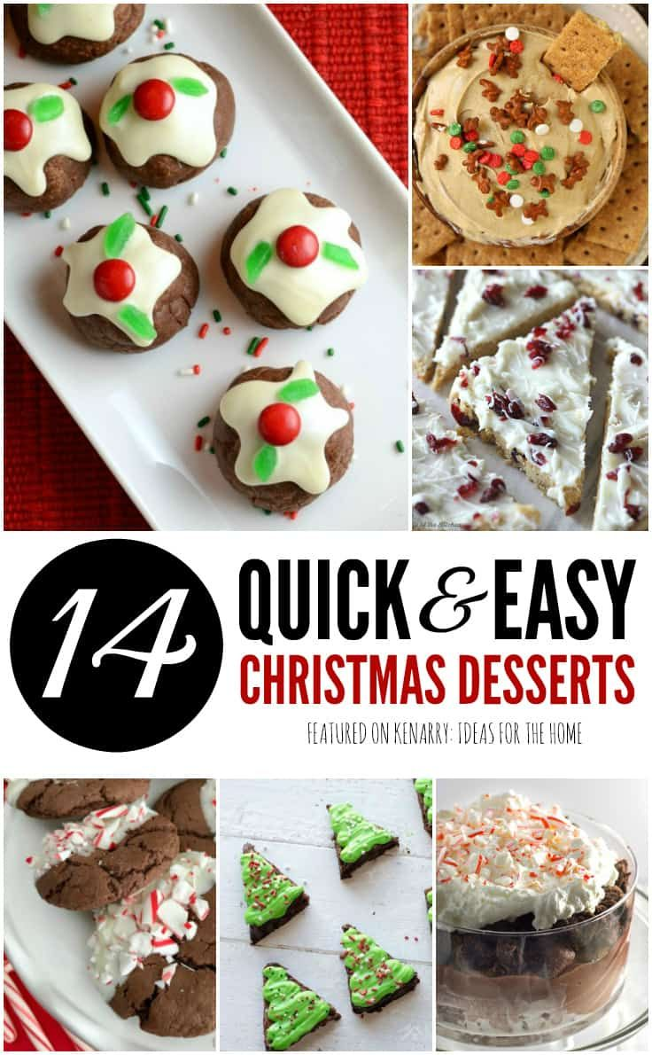 Are You Hosting A Holiday Party Or Need Simple Potluck Ideas To Take Somewhere These Easy Dessert Recipes For Christmas Will Be Hit With Your Family