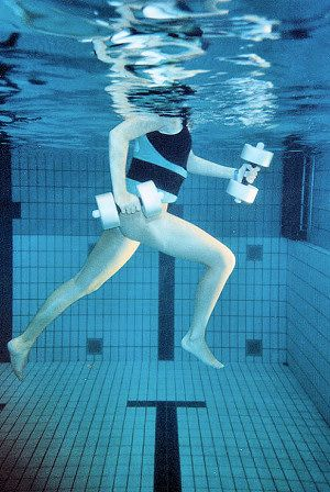 injured? no problem!! Aqua-Jogging is the solution ...
