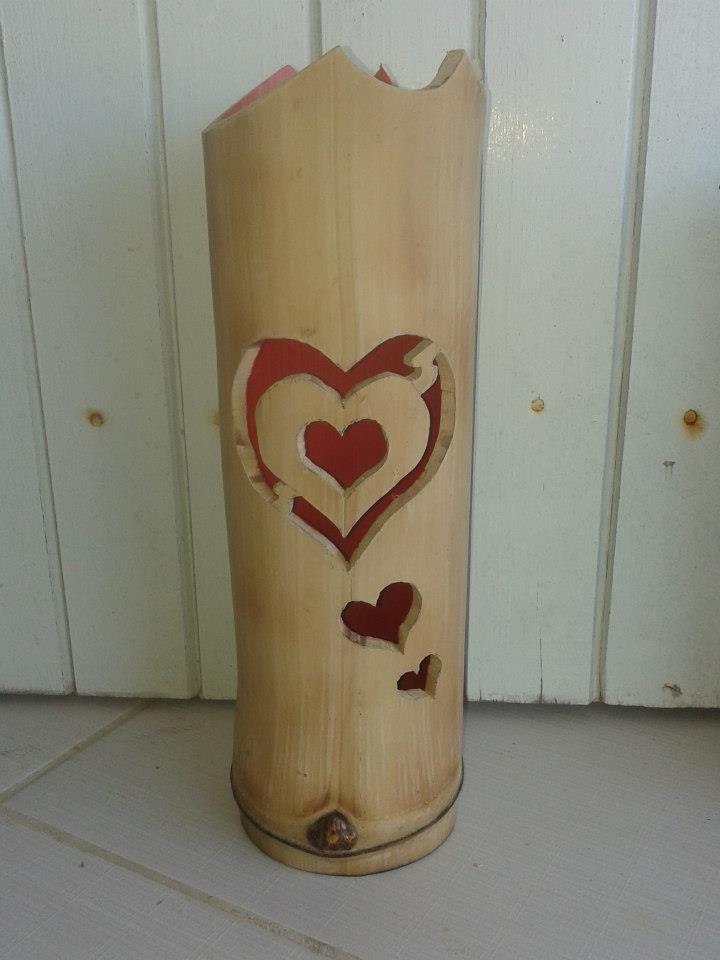 Lumin ria de bamboo for Crafts using bamboo