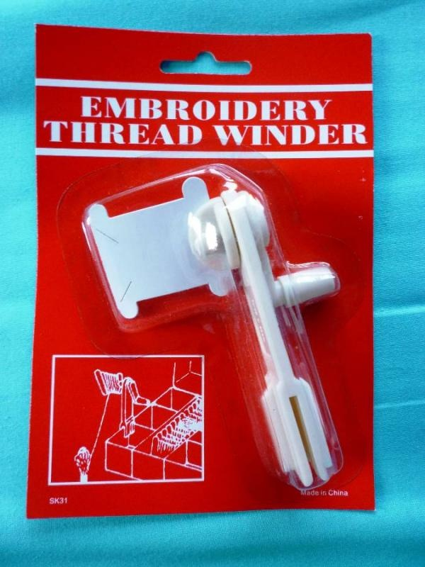 Bobbin Winder for Cross Stitch, Embroidery Thread - Holds ...