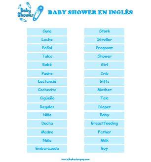 16 Juegos Baby Shower De Varon