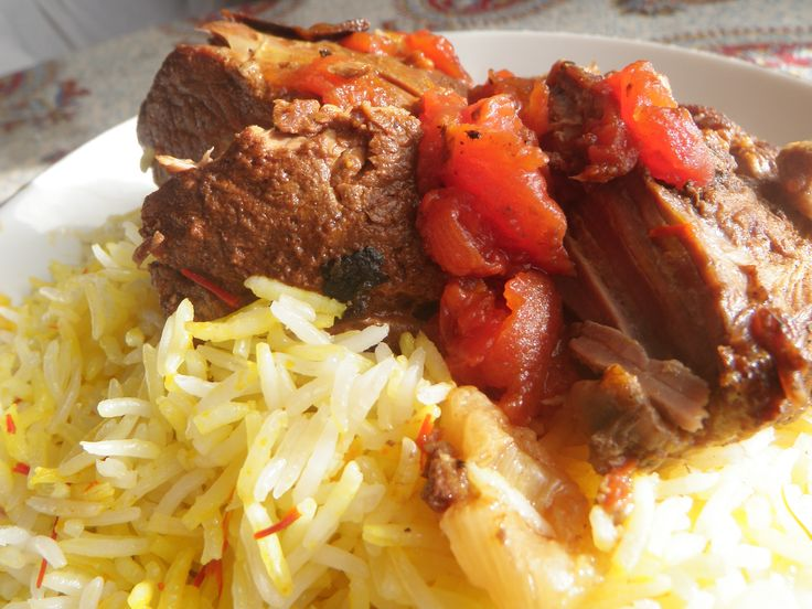 After all the holiday sweet, I was craving savory. Meaty. Hearty. Fragrant. This is what I put together in my slow cooker, fork-tender Crockpot Persian Saffron Lamb: It's a Persian-spiced boneless...