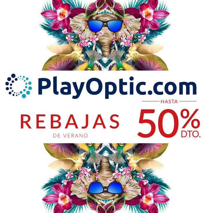 R E B A J A S 🔴 ¡Hasta un 50% DTO! 🔴 Hasta 50% de Descuento en Gafa de Sol 🕶 https://playoptic.com/ #Gafasdesol #Rayban #Arnette #Persol #Oakley #Verano #Summer #PlayOptic #Vacaciones #Quierogafasdesol