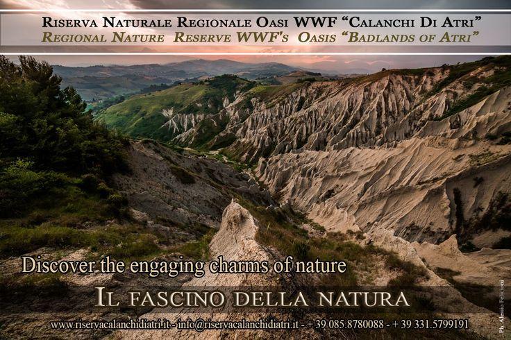 ESCURSIONE - Ore 18:00 CALANCHI DI ATRI *Oasi WWF* - Riserva Naturale Regionale #eventiteramo #eventabruzzo