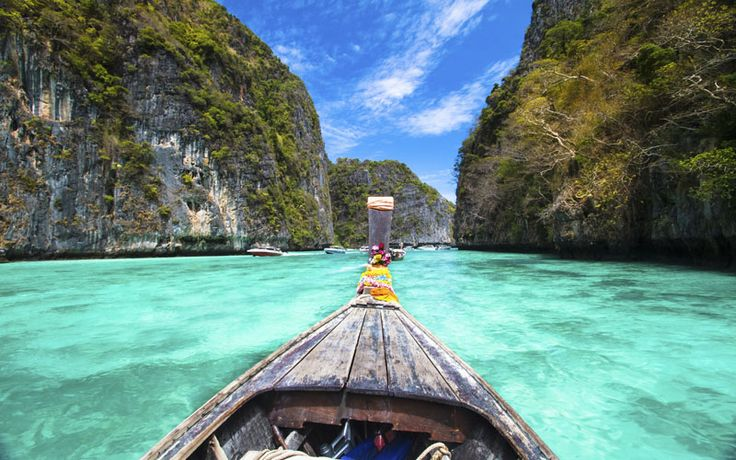 De fantastische Phi Phi Eilanden #phiphieilanden #thailand #rondreisthailand #originalasia
