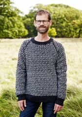 Færøsk Sweater Herre Strikkeopskrift