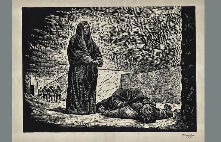 Leopoldo Mendez, Un Día de Vida (A Day of Life) 1950