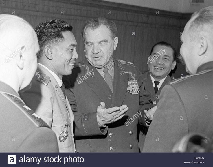 Marshal Of The Soviet Union Vasily Chuikov And Major General Ahmad Stock Photo, Royalty Free Image: 22764286 - Alamy