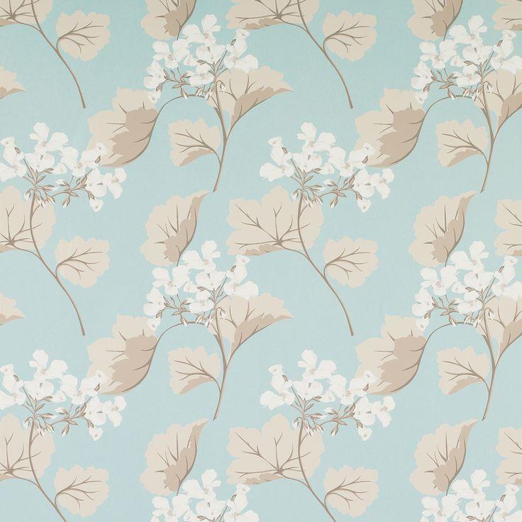 Millwood Duck Egg Wallpaper - www.lauraashley.com
