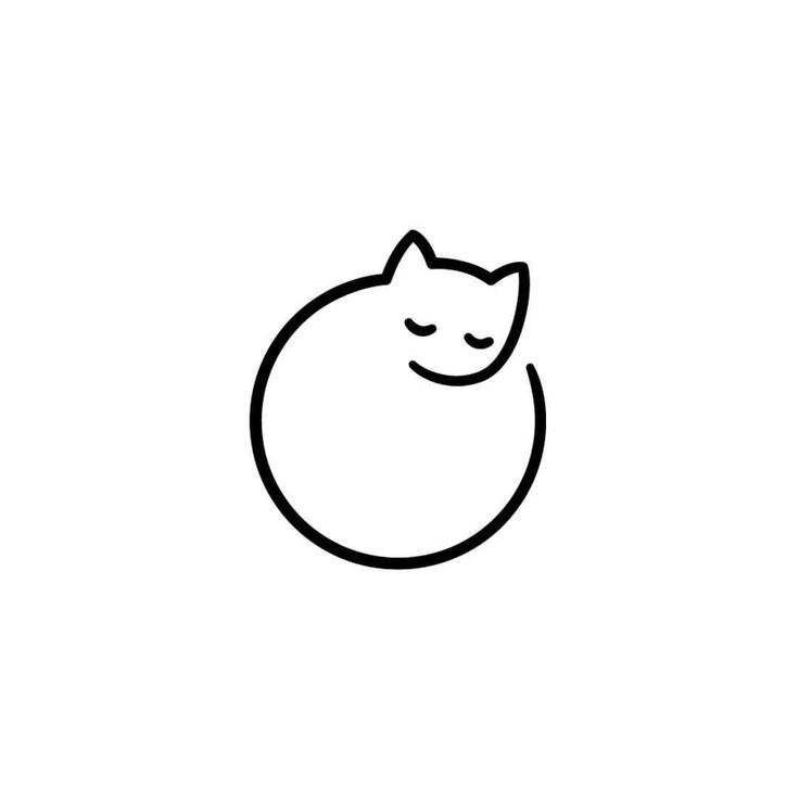 "Gefällt 2,964 Mal, 12 Kommentare - Logo Inspirations (@logoinspirations) auf Instagram: ""Minimal Cat by Irina Mir 