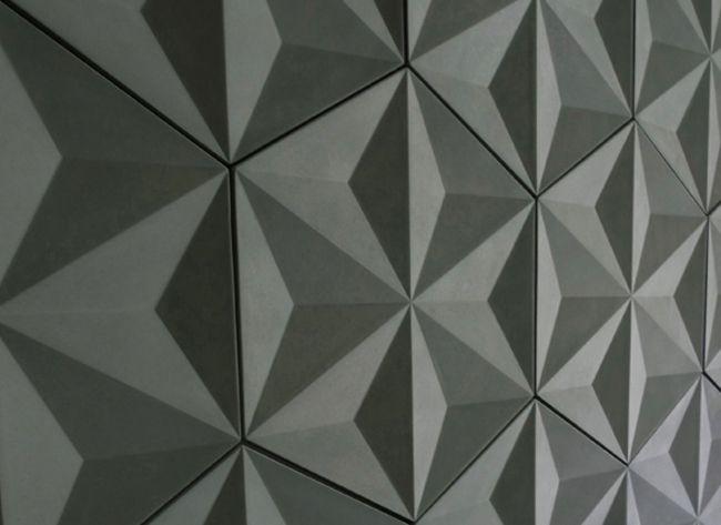 Concrete Tile | Japanese Geo | Tile Design : Ceramic Tile, Wall Tile, Floor Tile