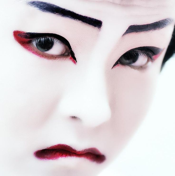japanese kabuki make-up