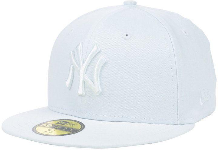 New Era New York Yankees White-On-White 59FIFTY Cap