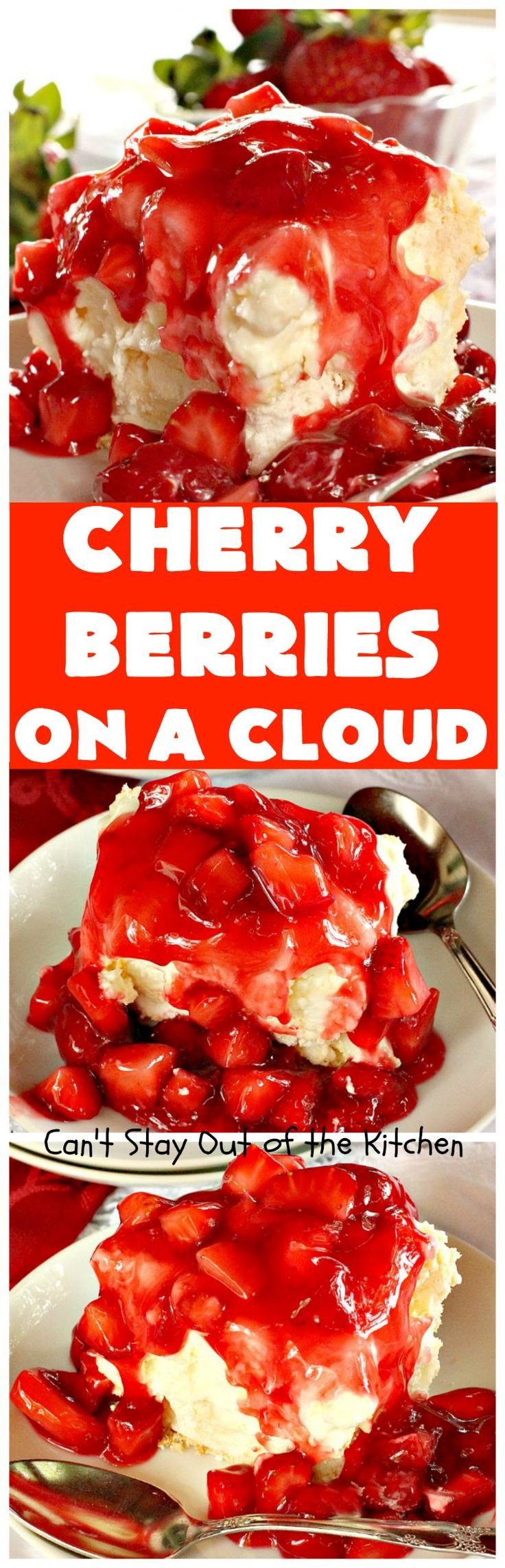 Cherry Berries On A Cloud!