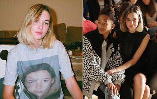 Híres pólók: Jaden Smith barátnője a saját rabosítási képét rak...