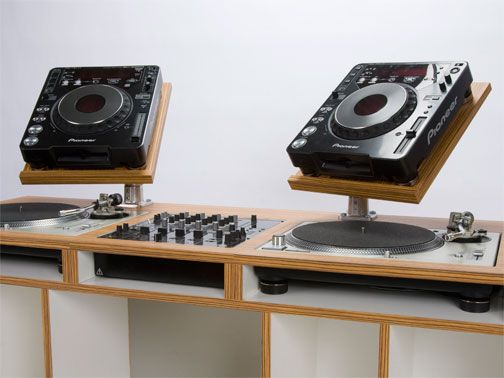 beautifully crafted dj furniture by duelsf dj booth dj booth dj rh pinterest com