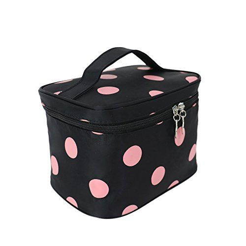 #Cosmetic #Organizers, #Arricastle #Fashionable #Wave #Dot #Portable #Cosmetic #Toiletry #Bags #Polyester #Fiber #Makeup #Brush #Travel #Storage #Box √ Size:22 X 15 X 15cm/8.58 X 5.85 X 5.85 inches; Material: Nylon √ Meet all kinds of #makeup tools, #makeup and cosmetics, and desktop and boot, your space is no longer cluttered. √ Inside in #cosmetic brushes fixed slot, easy to use, with luggage to carry. Collection can be folded when not in use, do not take up space.