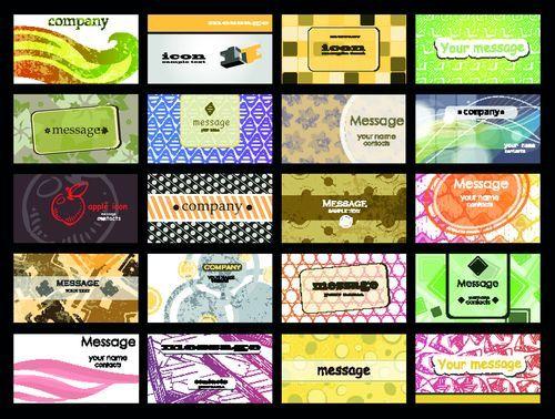 Готовые шаблоны визиток