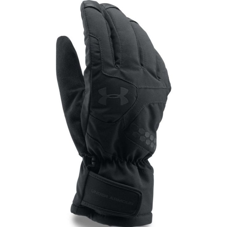Under Armour Men's Treblecone Insulated Gloves, Black