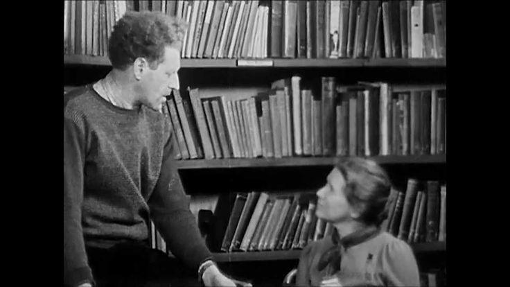 """Film de estilo falso documental titulado """"School, a film about Progressive education"""" (1939), donde se reproduce un día de la vida en una de las escuelas progressivas inspiradas en las teorías de J. Dewey"""