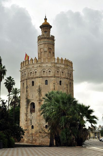 Torre del Oro, Sevilla (Andalucia) - España,